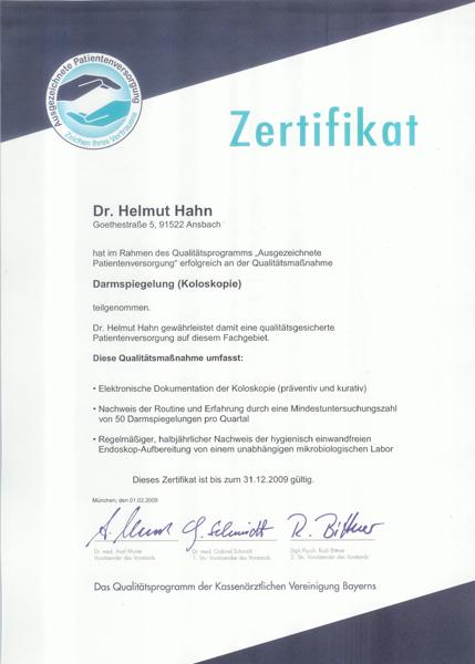 Diagnostika Sonographie Zertifikat